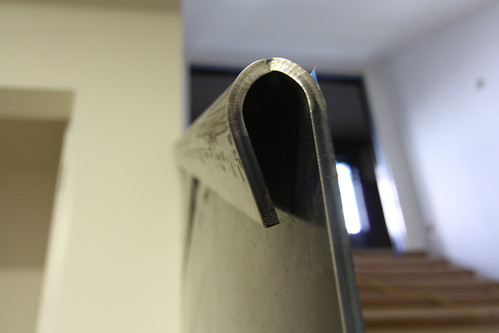 Guardrail bend