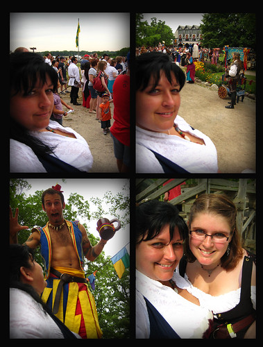 153 365/2- Quadtych of the Faire