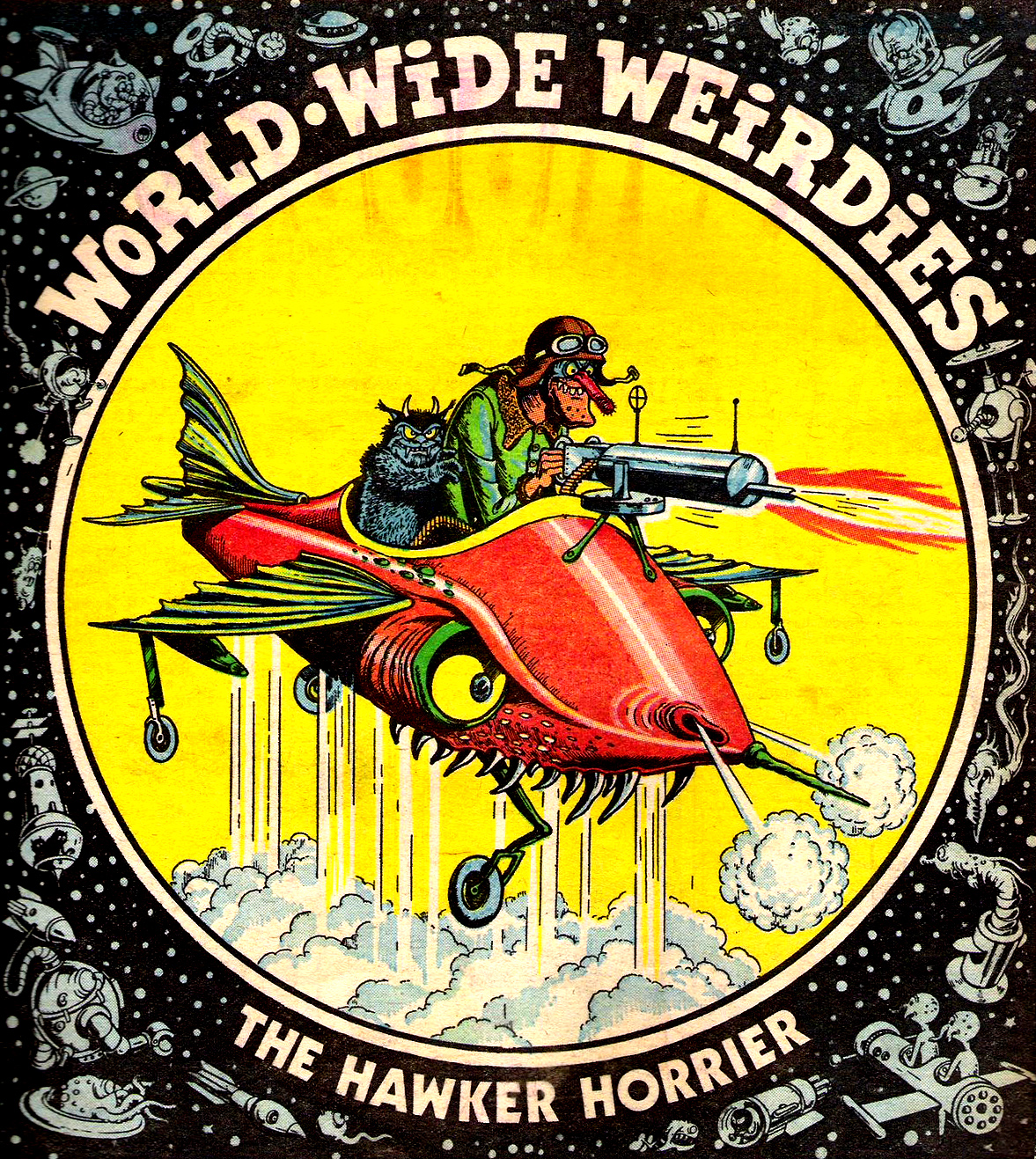 Ken Reid - World Wide Weirdies 42