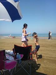 千里浜海水浴場2