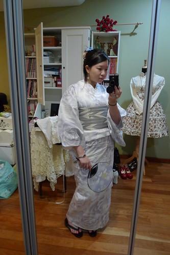 Periwinkle Rose Yukata
