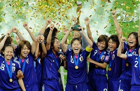 Japan world champions