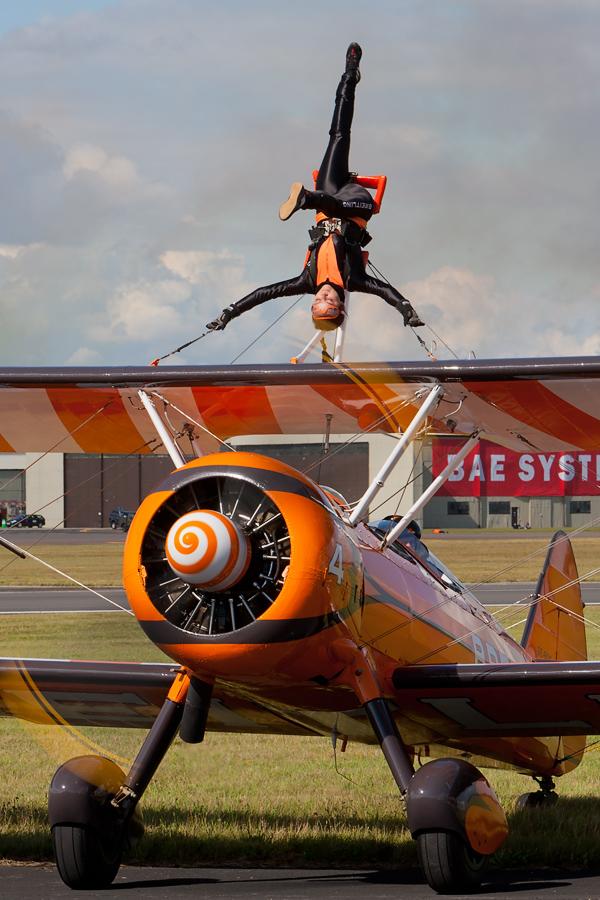 RIAT Breitling Wingwalker