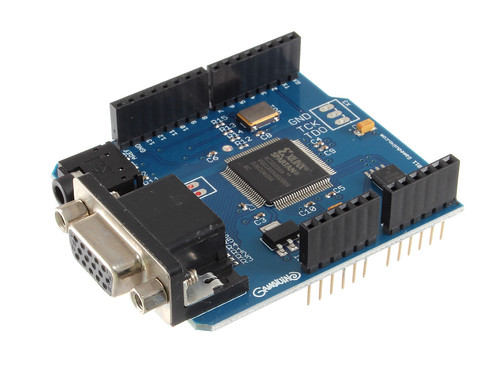 Gameduino Shield for Arduino
