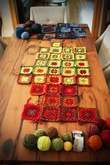 crochet_granny_Babette_july2011 (alexandra s.m.) Tags: wool crochet yarn hook granny babetteblanket