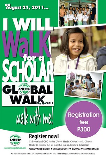 Walk for a Scholar Global Walk
