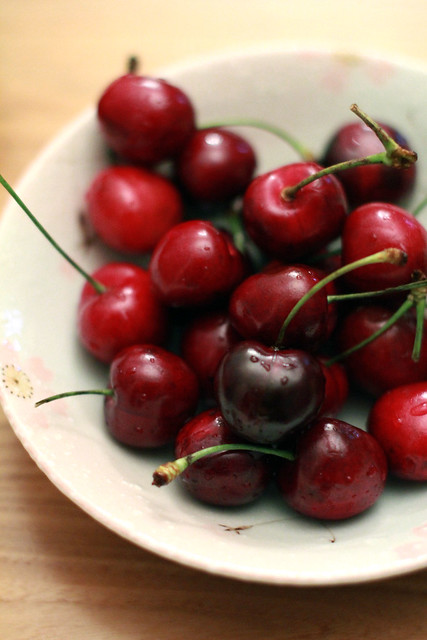 Cold & Fresh Cherries - the Perfect Summer Snack