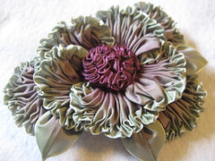 Picture 025 (Grandmas flower Garden) Tags: flowers french ombre millinery ruching