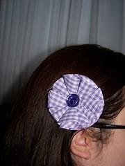 Button Centered Flower