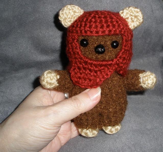 Ewok Crochet Amigurumi : Ewok to Baby Wookie - We Love Amigurumi