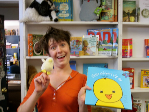 Little Chicken and an Awesome Bookseller