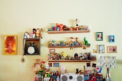 can't live without toys (girl enchanted) Tags: toys toy collection collections collectibles collectible ghibli totoro gigi mei bear bears carebear doraemon music table desk inspiration astroboy nobita monchichi japan singapore asia simpson toystory pixar panda sanrio hellokitty stationery pens pencils aliens catbus woody dino dinosaur moomin woodywoodpecker poodle jamfancy cute kitsch disney clutter love mine cheburashka sumo memories keepsakes pandas