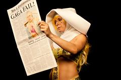 Perform This Way (Robyn Von Swank) Tags: music funny comedy madonna parody behindthescenes yankovic weirdal musicvideo weirdalyankovic bornthisway ladygaga vonswank performthisway