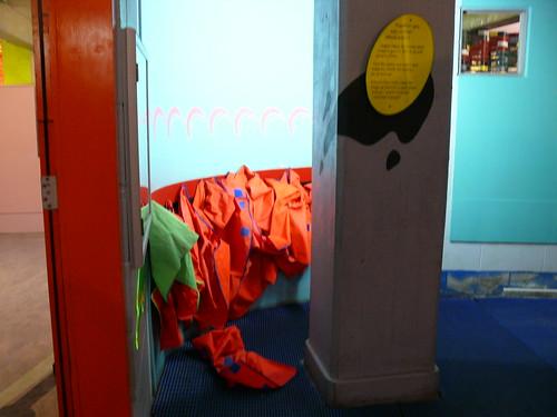 Le vestiaire des tabliers