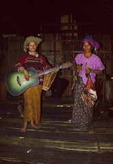 Local entertainment and food !Myanmar