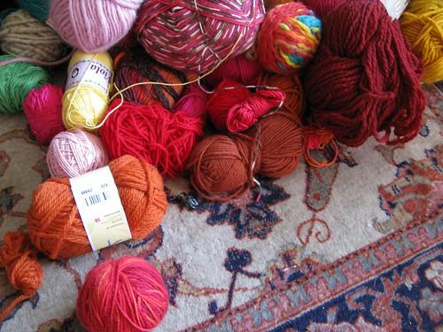 Yarn mess