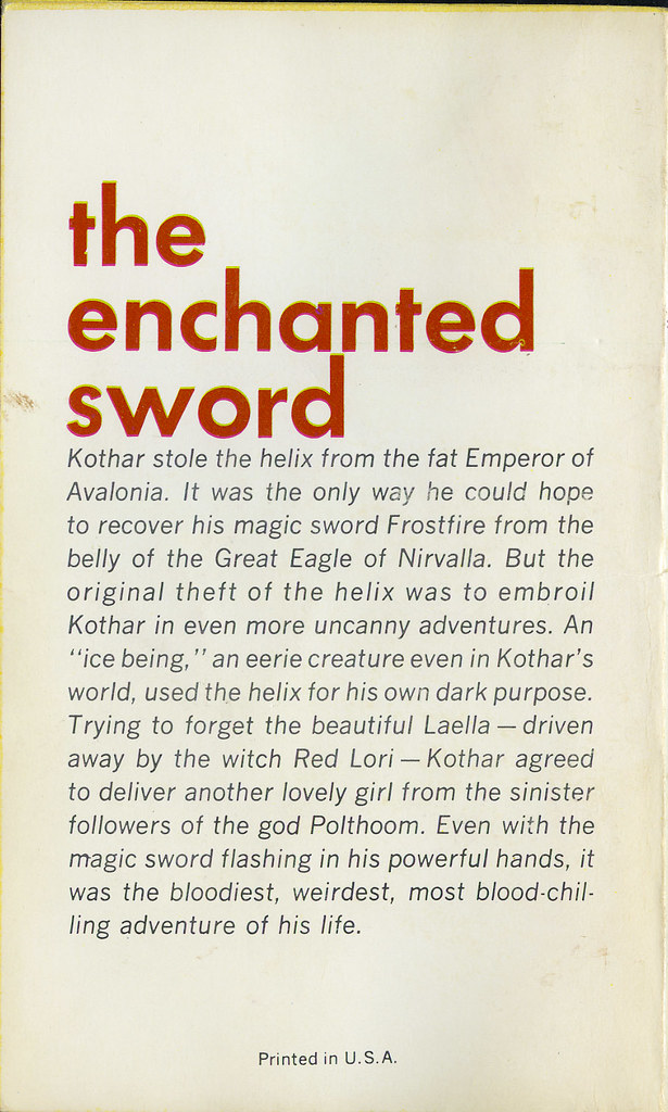 The Enchanted Sword_tatteredandlost