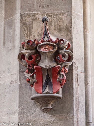 Pillar decoration, the Münster, Bern
