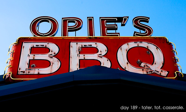Day 189 - Opie's BBQ