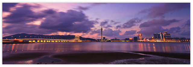 Sunset in Macao