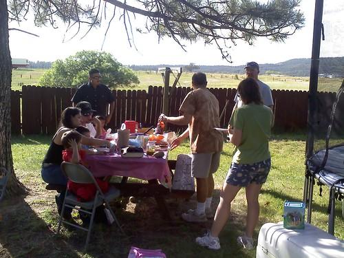 Backyard happenings
