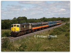 Cush (finnyus) Tags: ireland gm br diesel rail coco locomotive railways craven coaches cush carriages kildare dieselengine generalmotors 1541 1505 2011 080 mk1 diesellocomotive 1522 1514 3185 1523 rpsi 071class railwaypreservationsocietyofireland obw20 finbarroneill