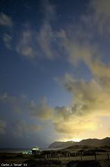 Noches de verano (Carlos J. Teruel) Tags: longexposure espaa mar nikon nightshot paisaje murcia nubes nocturna nocturnas cartagena d300 2011 calblanque tokina1116 xaviersam
