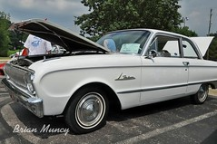 1962 Ford Falcon (Muncybr) Tags: columbus ford falcon oh westerville 1962 carshow westervillesouth muncybryahoocom 6146683900 crusinfortunes photographedbybrianmuncy