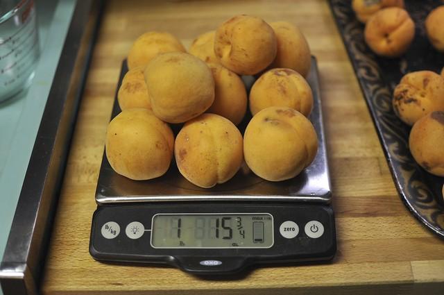 2 pounds apricots