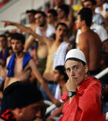 Albanian pride (Rilind Hoxha) Tags: delete9 delete5 delete2 amazing nikon europe pretty dof delete6 delete7 save3 delete8 delete3 delete delete4 save save2 sharp macedonia save4 01 save5 fans stadion albanian loja noisy skopje partizan tokina80200mmf28 soccerfans shkup maqedoni plisi shvercerat nikond7000 shqiptari rilindhoxha deletedbythehotboxgroup shverceratshkup shkenida