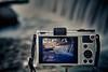 Dos en una (Jose Casielles) Tags: agua foto fuente camara pantalla yecla tripode olimpus letur fotografíasjcasielles