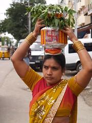 P7175740 (photographic Collection) Tags: india july olympus ap e300 2011 bonalu secunderabad jatara ujjaini mahankali
