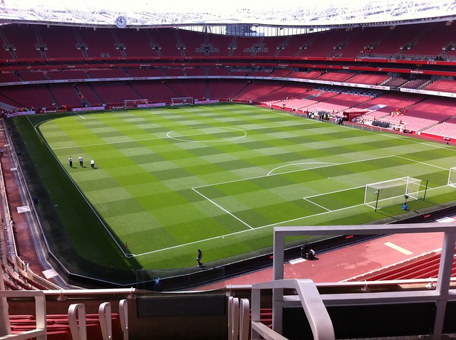 Emirates Stadium - Arsenal vs Man United 2010/11