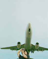 sky hunters #1 (Takafumi Goto) Tags: blue sky film airplane pentax kodak 400 hunter 6x7 moment portra 67