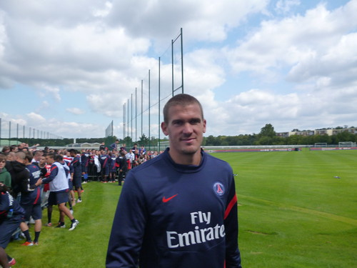 Nicolas Douchez au Camp des Loges (24/07/2011)