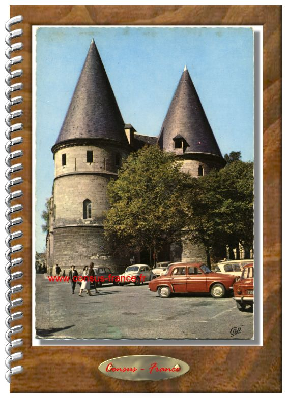 1871-BEAUVAIS Les Tours du Palais de Justice