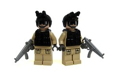 Delta Force (*Nobodycares*) Tags: modern soldier for force lego sale delta deal guns minifigs mp5 brickarms minifigcat