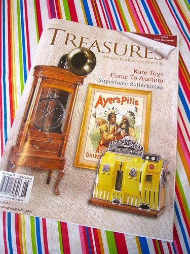 Treasures Magazine - Retro Roadmap Feature August 2011