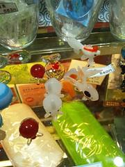 ガラス細工の水族館の写真