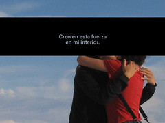 creer, de saber con certeza bestial... (mujercita.) Tags: love feel believe amar sentir creer knowforcertain