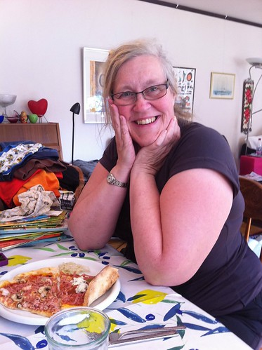 Bildbevis på min fina mamma!