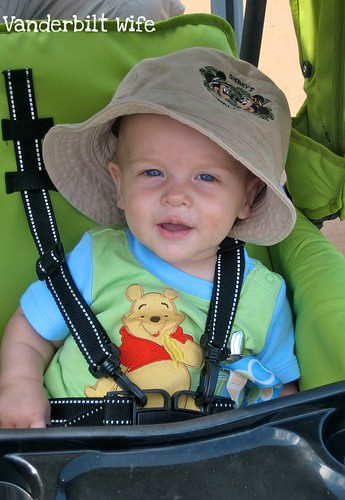 David at Animal Kingdom in Bucket Hat
