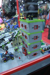 Alien Conquest Display Case - LEGO Booth at Comic Con - 6