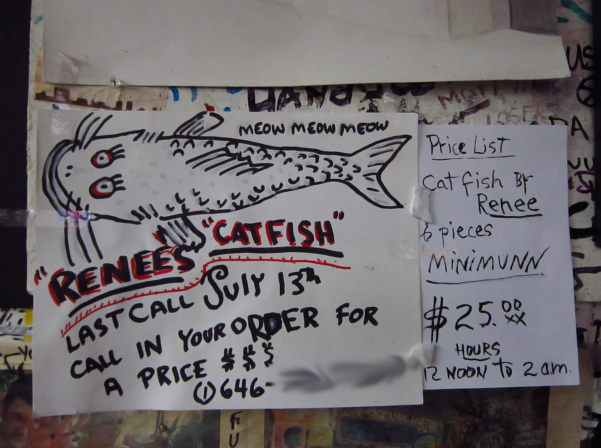 Renee's catfish