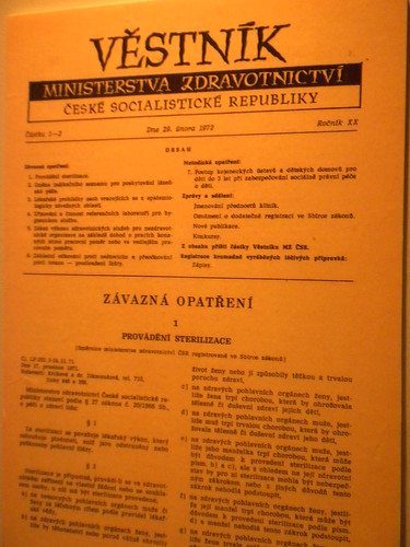 Document about sterilization.