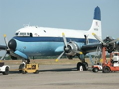 Blue 1 (Proplinerman) Tags: aircraft chico douglas airliner skymaster dc4 c54 propliner aerounion pistonliner n4958m