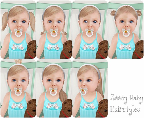 Zooby Baby hairstyles