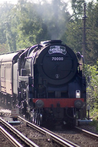 70000 Britannia at Minster (Thanet) 28th July 2011
