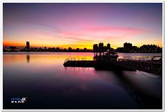 SDIM5891 ( or Jeff) Tags: ocean bridge blue sunset sea sky art nature water colors night clouds buildings coast landscapes place shot taiwan sigma explore wharf  taipei  1020mm  discovery       foveon landscap  dadaocheng   x3     18200mm   sd15
