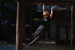 Tony-711 (T.Tyson - Flickr addict) Tags: park boy fun outside jump jumping sony free running run tony flip hanging freerunning daytime pk alpha a200 parkour
